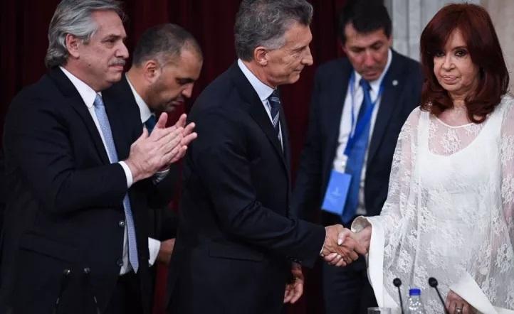 El tenso cruce entre Macri y CFK
