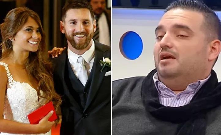 Dolor por la muerte del DJ que tocó en el casamiento de Messi