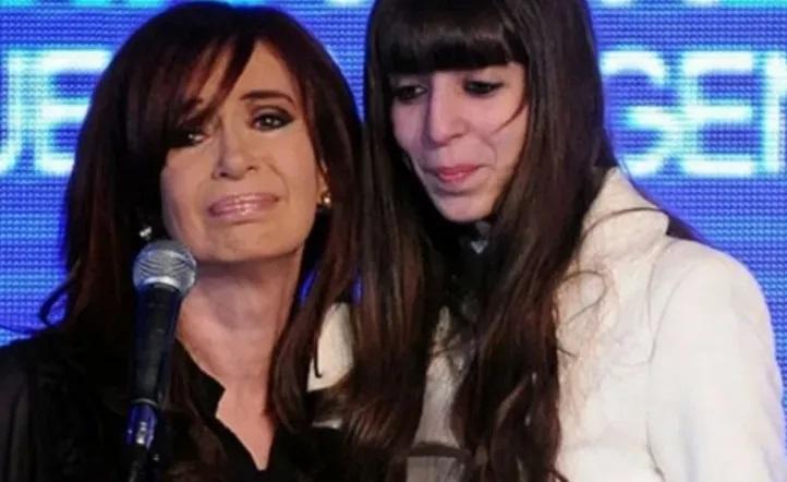 Se conoció la primera foto juntos de CFK y su hija