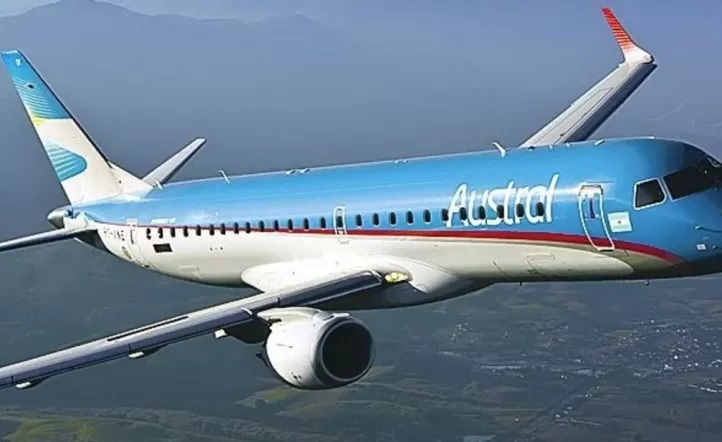 ¡Qué susto! Avión de Austral perdió rueda cuando aterrizaba en Rosario