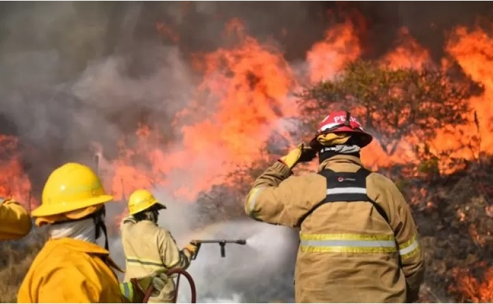 Triste noticia, vecino murió intentando ayudar a apagar el fuego en Córdoba