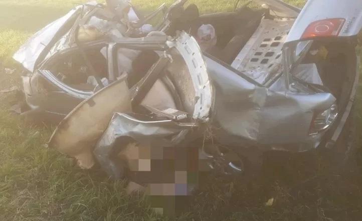 Trágico accidente en Acceso Oeste, tres muertos, un padre y sus dos hijos