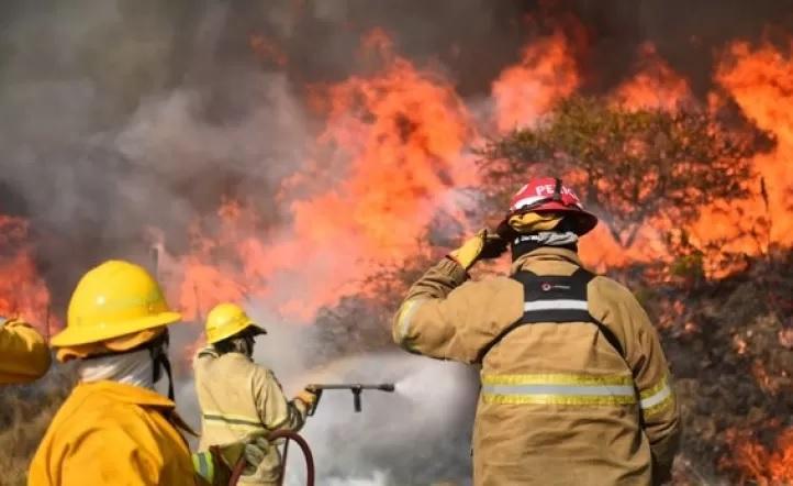 Córdoba: Prisión preventiva para dos hombres acusados de provocar los incendios