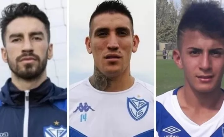 Thiago Almada, Ricardo Centurión y Lucero, desafectados para el próximo partido de Velez