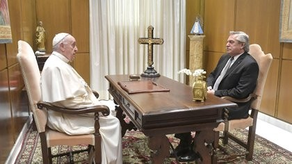 Alberto Fernández y el Papa Francisco tuvieron un nuevo encuentro