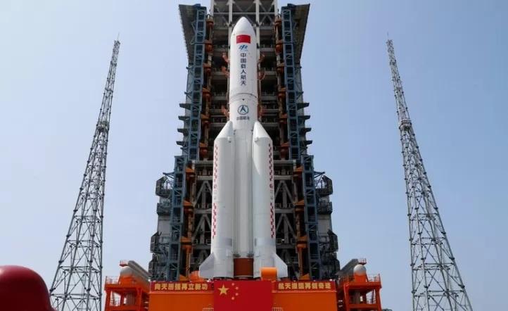 ¿Dónde cayó el cohete chino?
