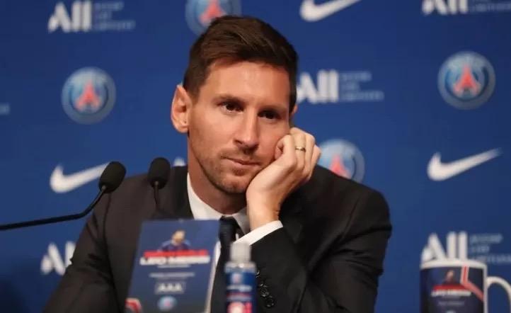 Las mejores frases de la primera conferencia de prensa de Messi en el PSG