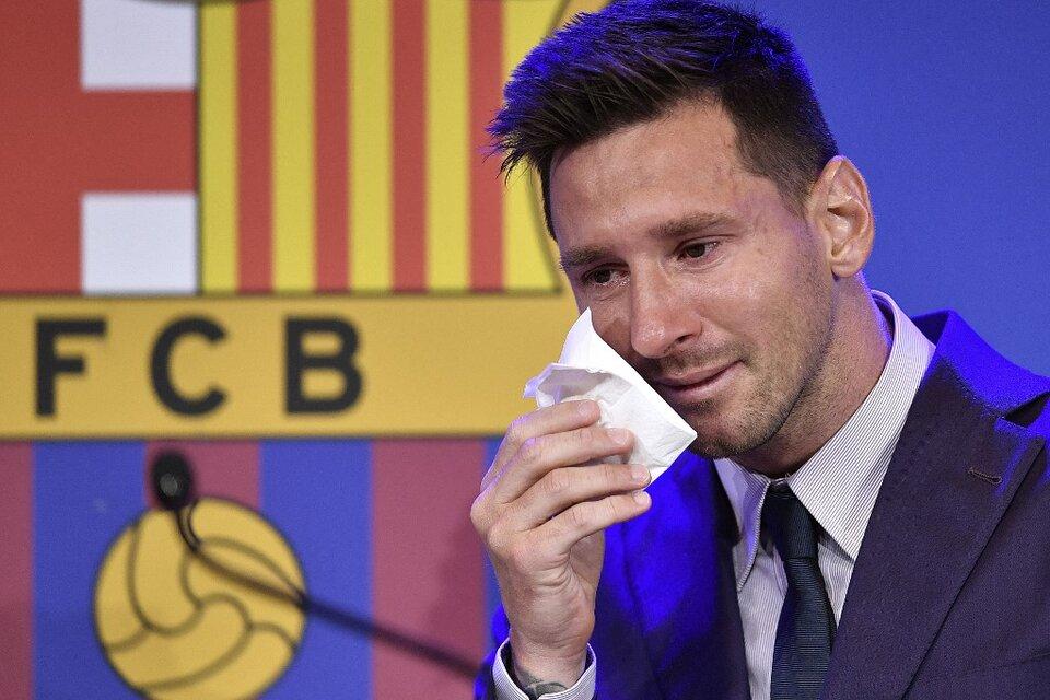 Punto por punto, la conferencia de prensa despedida de Leo Messi